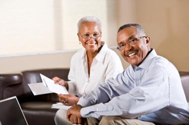 Happy retirees
